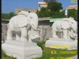 门口摆放一对石雕大象的作用