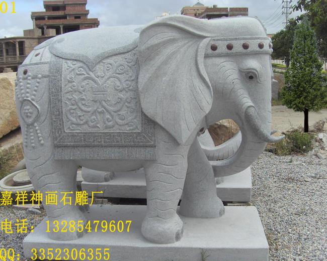 优质石雕大象