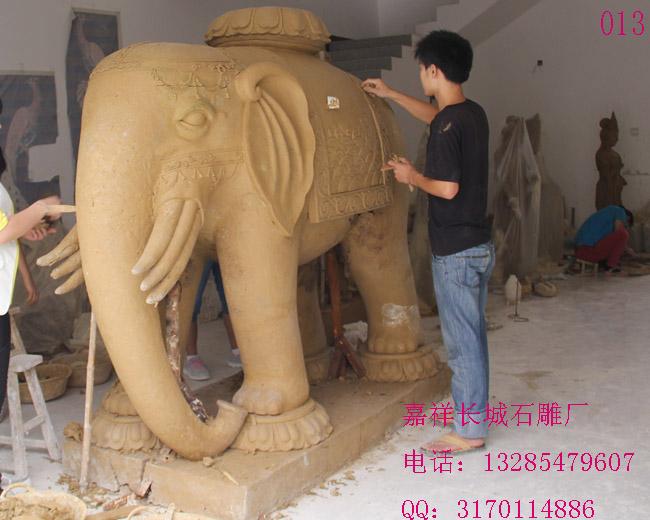 嘉祥石雕大象雕刻应该注意什么