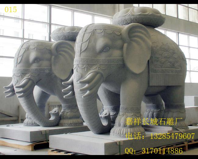 石雕大象雕刻